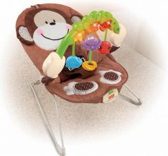 Шезлонг Fisher-Price Deluxe Monkey (Обезьянка)