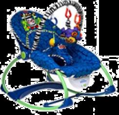 Шезлонг с подвесными игрушками Fisher-Price