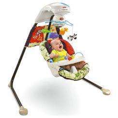 Детские электронные качели Любимый зоопарк Fisher Price