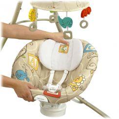 Детские электронные качели Fisher-Price Animal Krackers (Фишер Прайс Зверята)