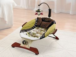 Прокат. Шезлонг Zen Collection Infant Seat «Гармония» Fisher-Price НОВИНКА