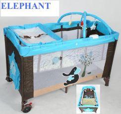 Манеж- кровать KidsPlay Elephant (Слон)