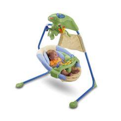 Детские электронные качели Papasan Уютное гнездышко от Fisher-Price