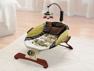 Прокат. Шезлонг Zen Collection Infant Seat «Гармония» Fisher-Price НОВИНКА